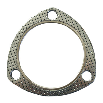 3-Bolt Graphite Exhaust Gasket