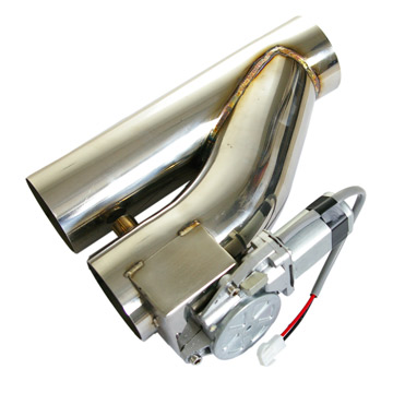 "2.5"" Electric exhaust cutout with Motor"